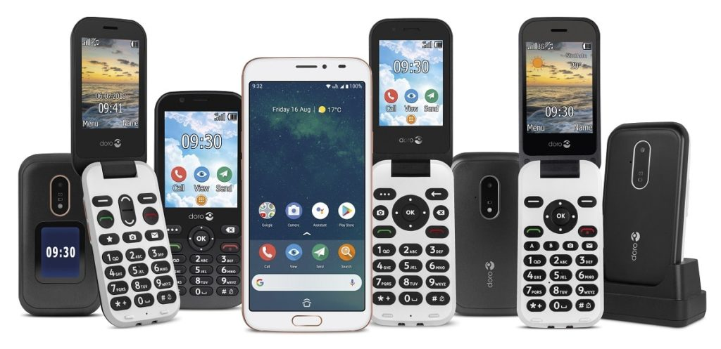 Téléphones pour seniors Doro