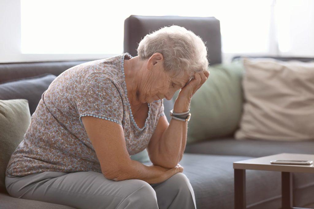La solitude chez les personnes âgées