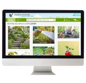 site Jardins Animés