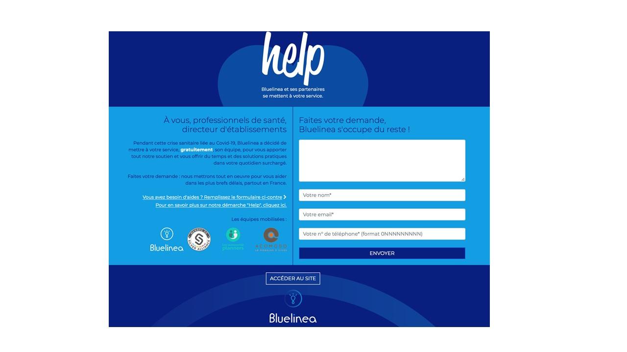 Covid-19 : Bluelinea lance une plateforme d'entraide dédiée aux directeurs d'établissements