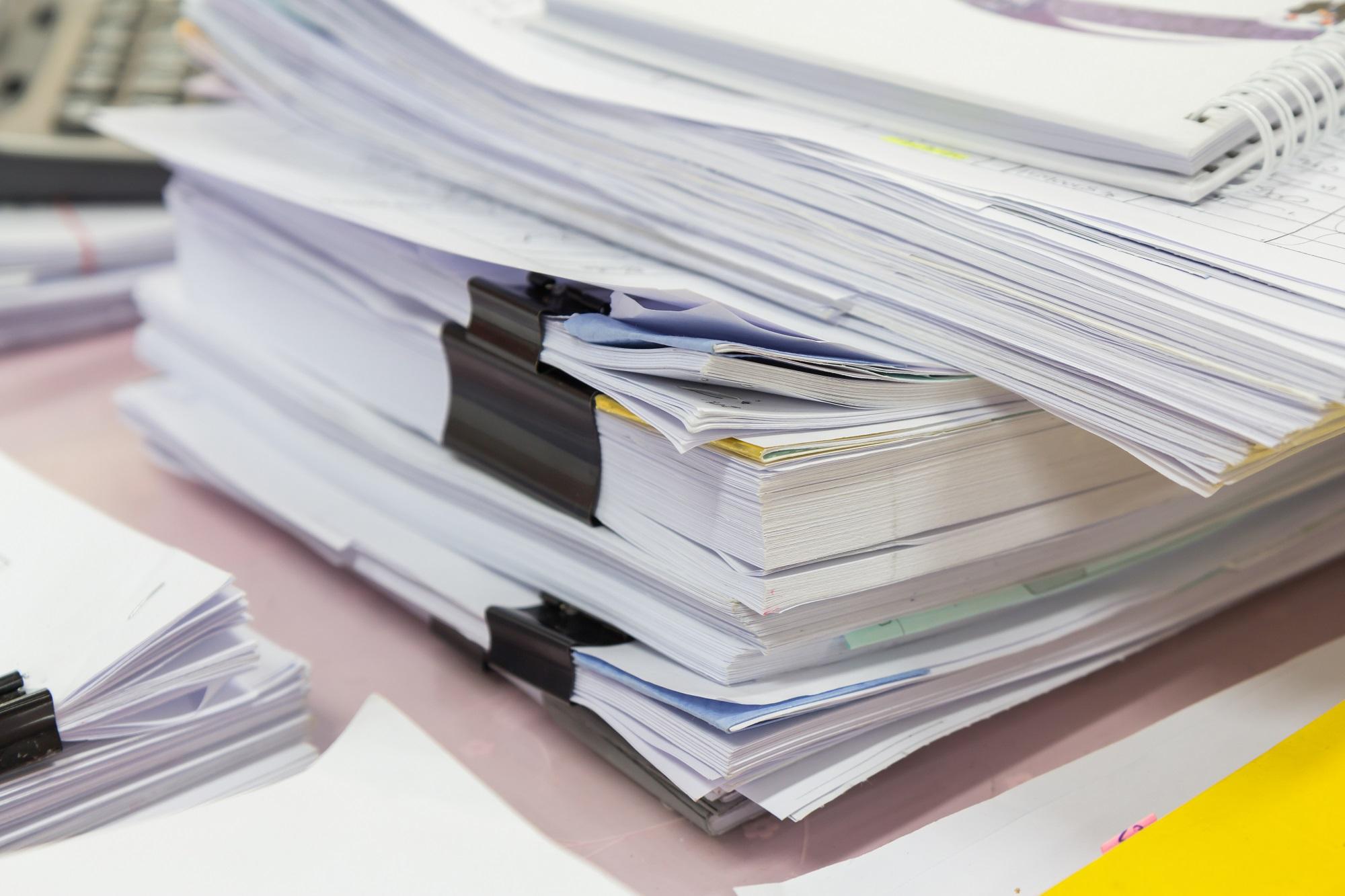 Trier et conserver ses papiers administratifs : ce qu'il faut savoir