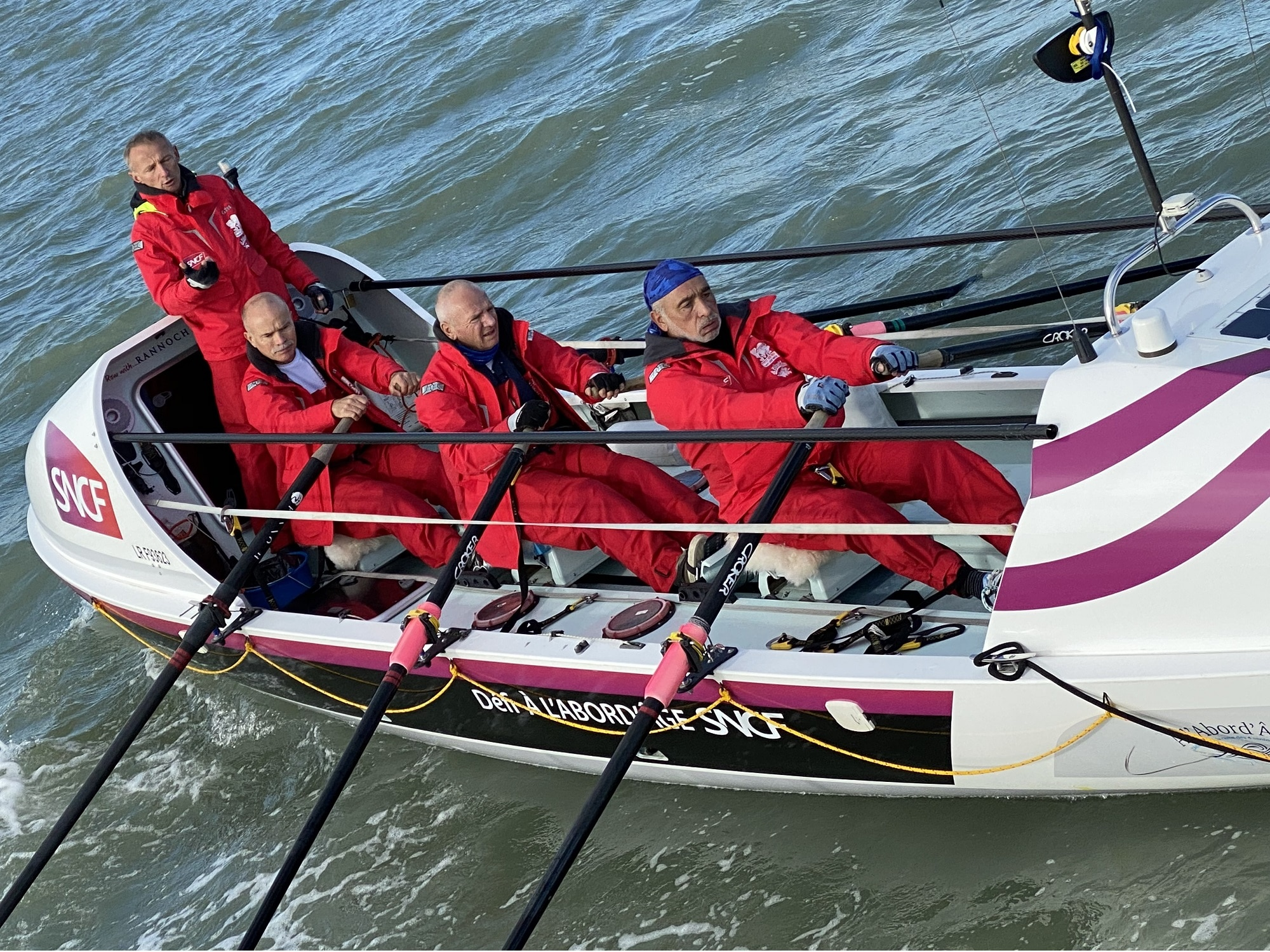 aviron pour seniors