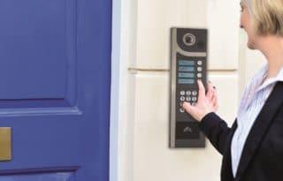 interphone de contrôle d'accès du domicile