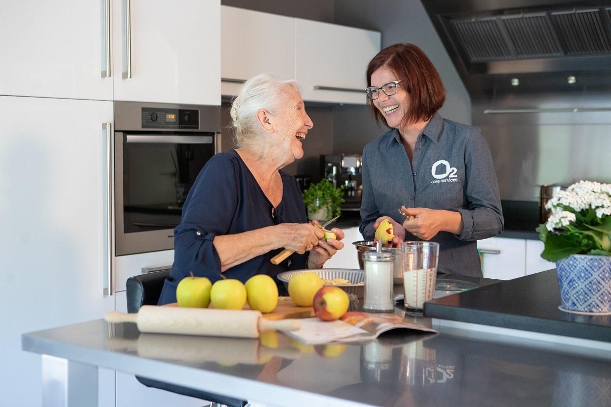 L'aide à domicile pour les personnes âgées