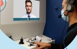 Un service de téléconsultation médicale